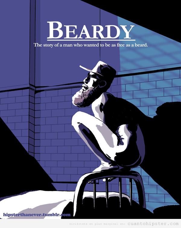 Beardy, novela hipster