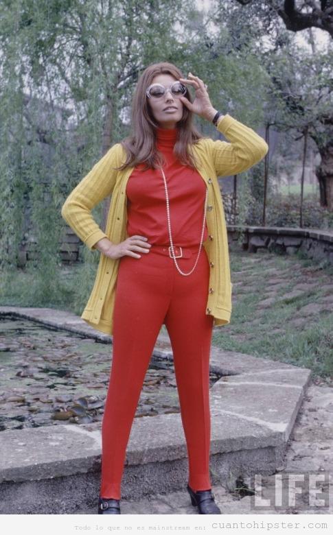 Foto chica años 60 ropa estilo vintage