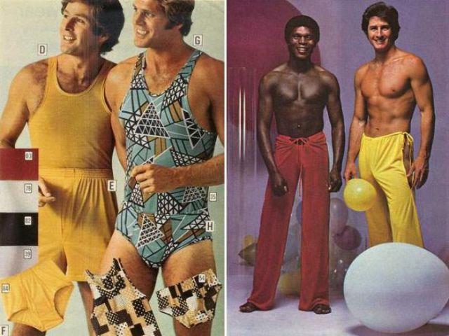 Fotos moda masculina WTF de los años 70