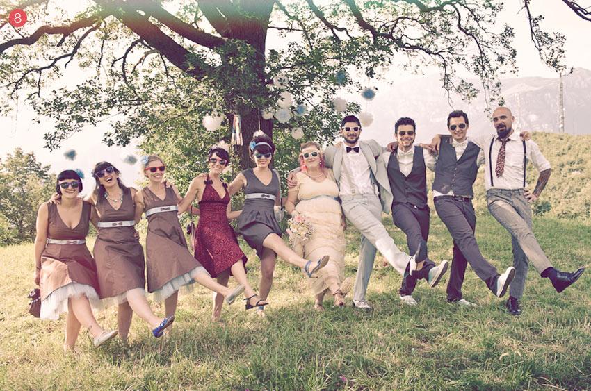 Invitados boda hipster
