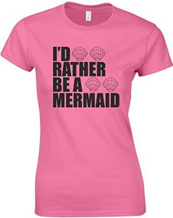 Camiseta hipster, prefiero ser sirena
