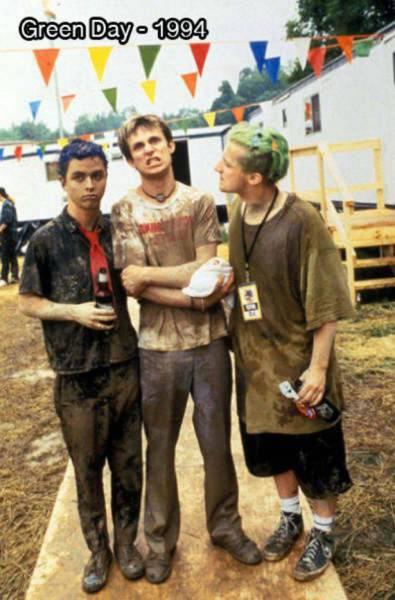 Foto del grupo Green Day en 1994