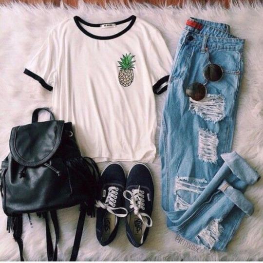 Total look moda hipster para verano