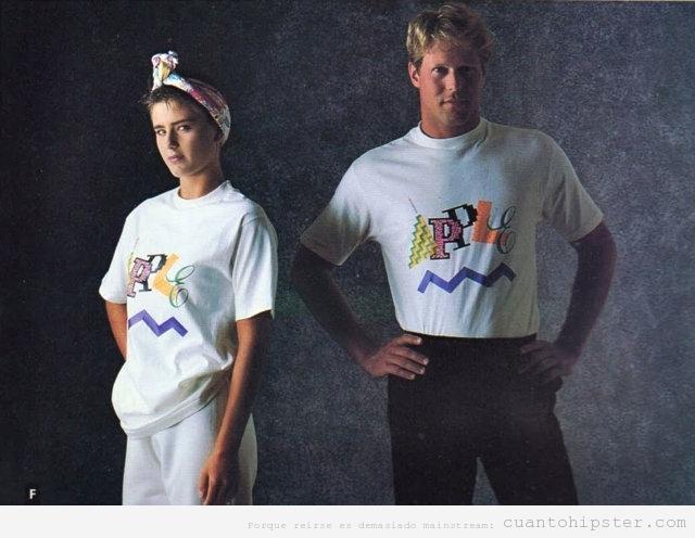 3 Colección ropa marca Apple 1986