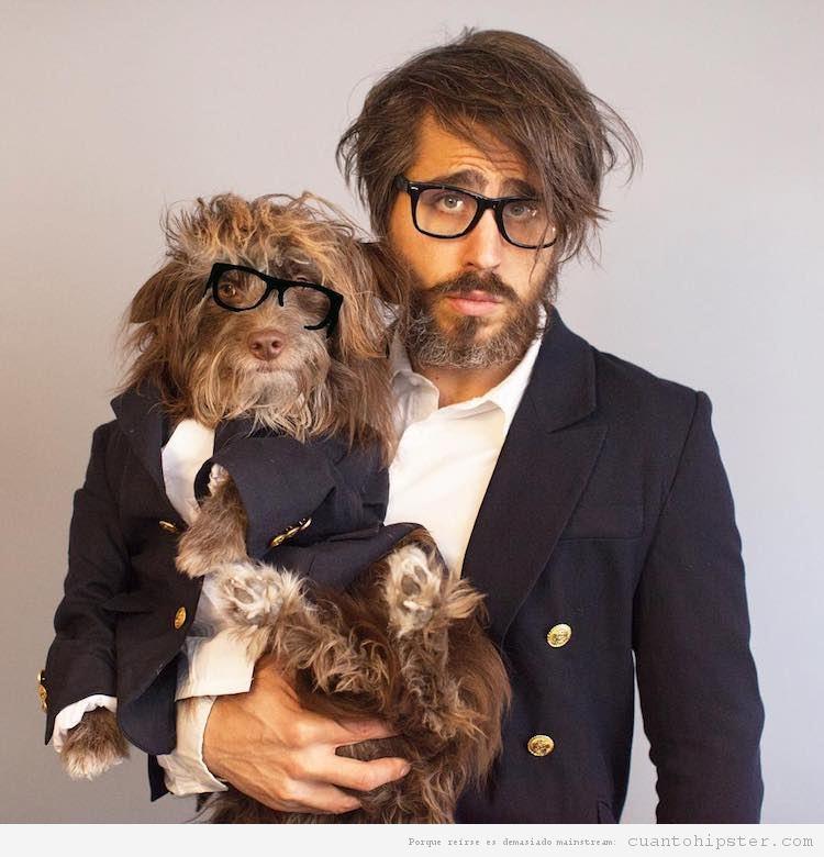 Foto hipster parecido a su perro 7