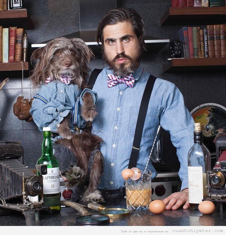 Foto hipster parecido a su perro 8