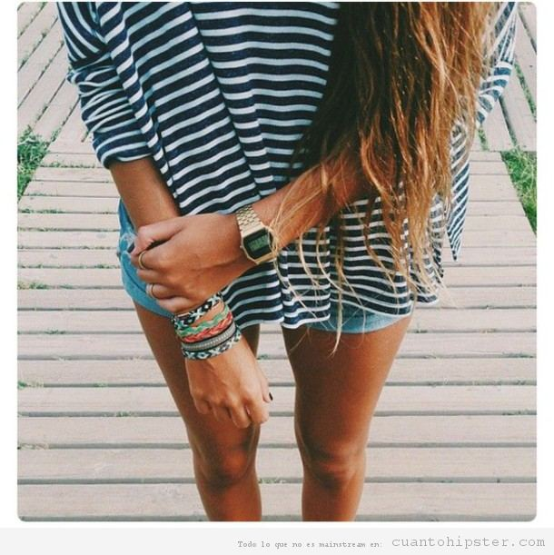Relojes Casio look hipster 2
