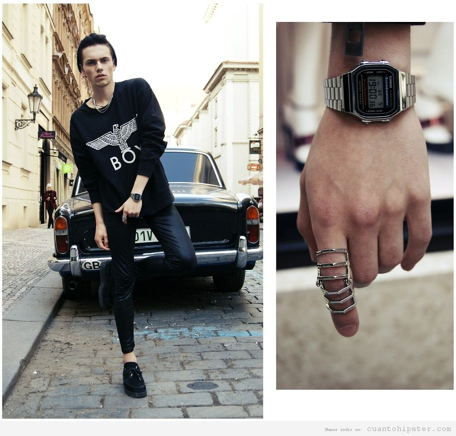 Relojes Casio look hipster 4