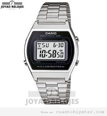 Reloj hipster Casio