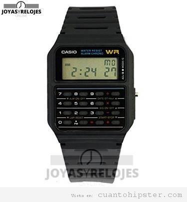 Reloj hipster Casio databank