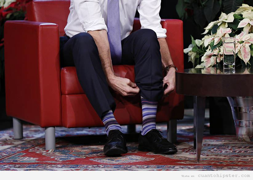 Calcetines Trudeau rayas
