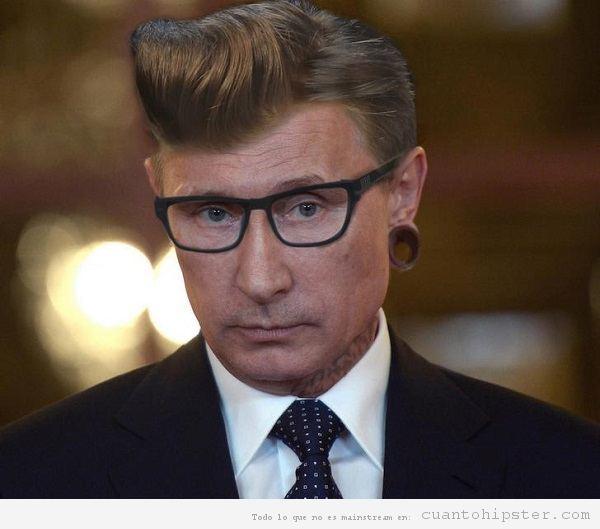 Putin hipster