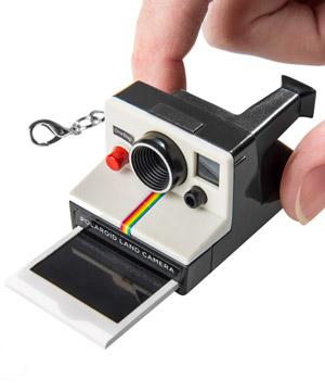 Llavero hipster Polaroid