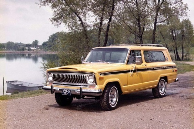 Coche hipster 1975 Jeep Cherokee